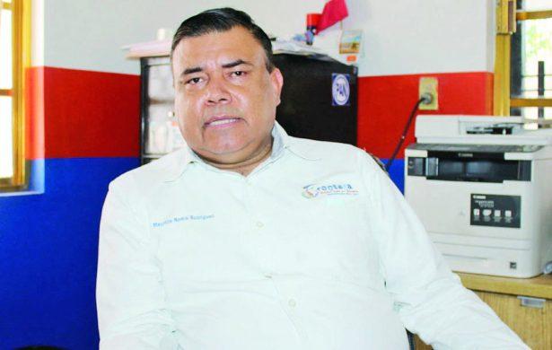 Ingeniero Maurilio Romo, secretario del Ayuntamiento de Frontera.