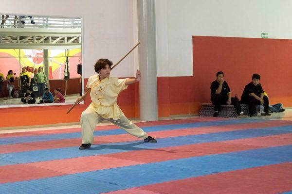 En riesgo, fase selectiva estatal de artes marciales