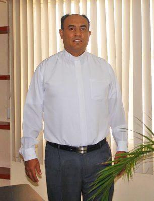 Padre Julio Carrillo Gaucín, en favor del trabajo de la alcaldesa Leticia Herrera.