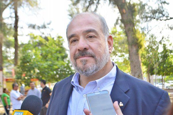 José Antonio Baille Smith, presidente de la Cámara Nacional de Comercio en Torreón.