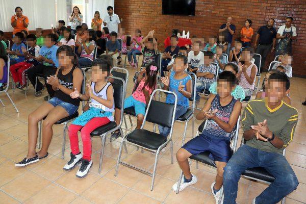 Niños y jóvenes del DIF Torreón están listos para tomar parte en los Cursos de Verano del Municipio que inician este lunes 17 de julio.