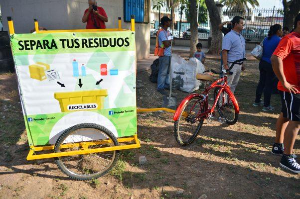 """""""Recicletas"""" recorrerán el Paseo Morelos y El Fresno"""