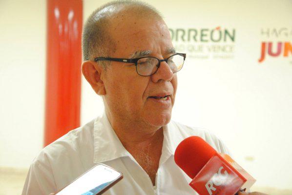Dr. Manuel Velasco, titular de la Dirección de Salud Municipal.