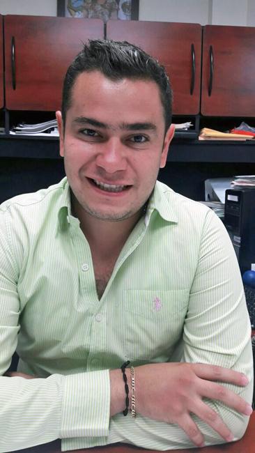 Víctor Habib Araluce, director de Desarrollo Social en Gómez Palacio.