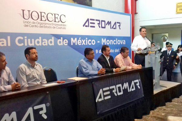 Inicia operaciones Aeromar con vuelos Monclova-Ciudad de México