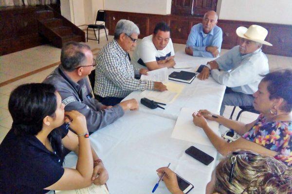Funcionarios de la CNA y Protección Civil comparecieron ante regidores