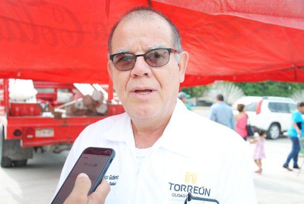 Manuel Velasco, titular de Salud Municipal de Torreón.
