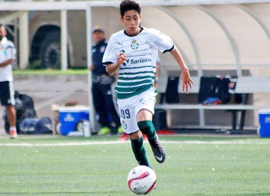 Traspié de los Guerreros Sub 15 en Guadalajara
