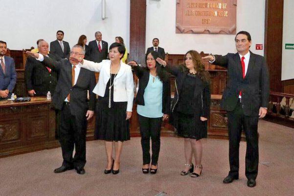 Designan a los magistrados del Tribunal de Justicia Administrativa