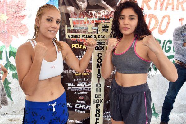 Wendy Luna se enfrentará a Brenda Araujo.