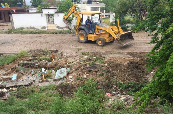 Encabeza alcalde trabajos de limpieza en Monclova
