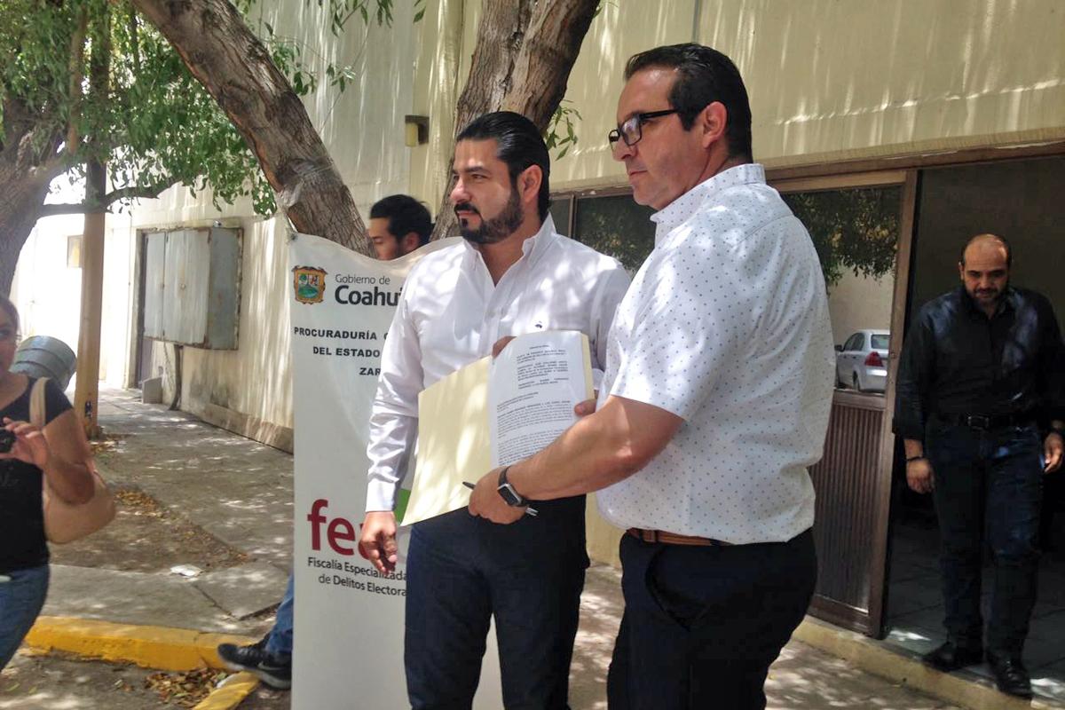 Denuncia PRI-Coahuila a Guillermo Anaya por presunto desvío de recursos