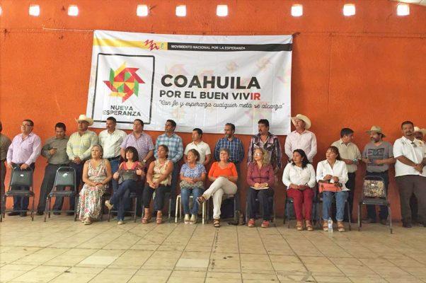 Formalizan el comité estatal de Movimiento Nacional por la Esperanza