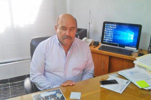 Ingeniero Jesús Caballero Guerrero, gerente del Simas Madero.