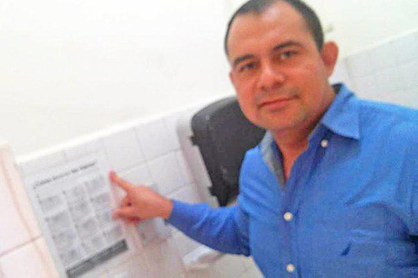 El director del Hospital General, Isaías de la Cruz Huesca, habla de las infecciones nosocomiales.