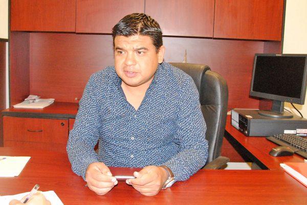 Carlos Espinoza Narváez, presidente de la Junta Local de Conciliación y Arbitraje.