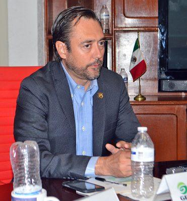 Javier González Lara, presidente de Canacintra en Torreón.