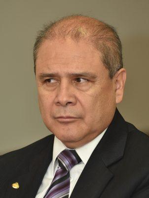 El subgerente de Planeación y Proyectos de la CFE Rodolfo Gómez Flores