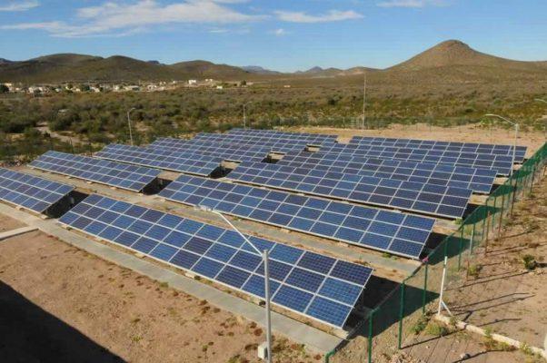 Avanza planta solar en Viesca