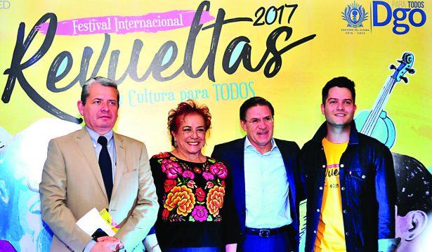 Se vivirá Festival Revueltas en 22 municipios: Aispuro