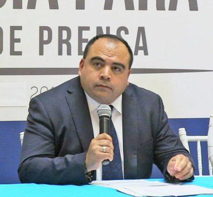 Galdino Torrecillas Herrera, consejero general de Asuntos Jurídicos del Gobierno del Estado.