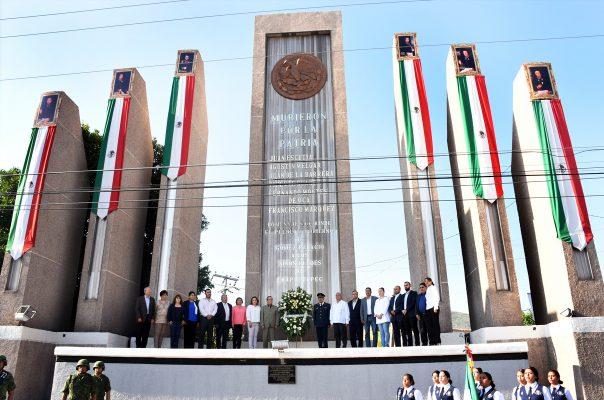 Conmemoran a los Niños Héroes en Gómez Palacio