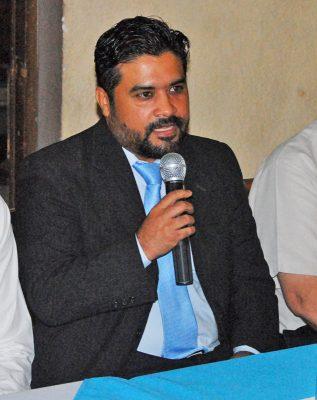 Ricardo Valdez Cano, director de la escuela de Arquitectura de la UAC.
