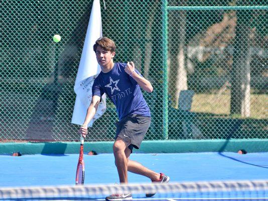 Continúa actividad del Torneo Anual de Tenis del CGP