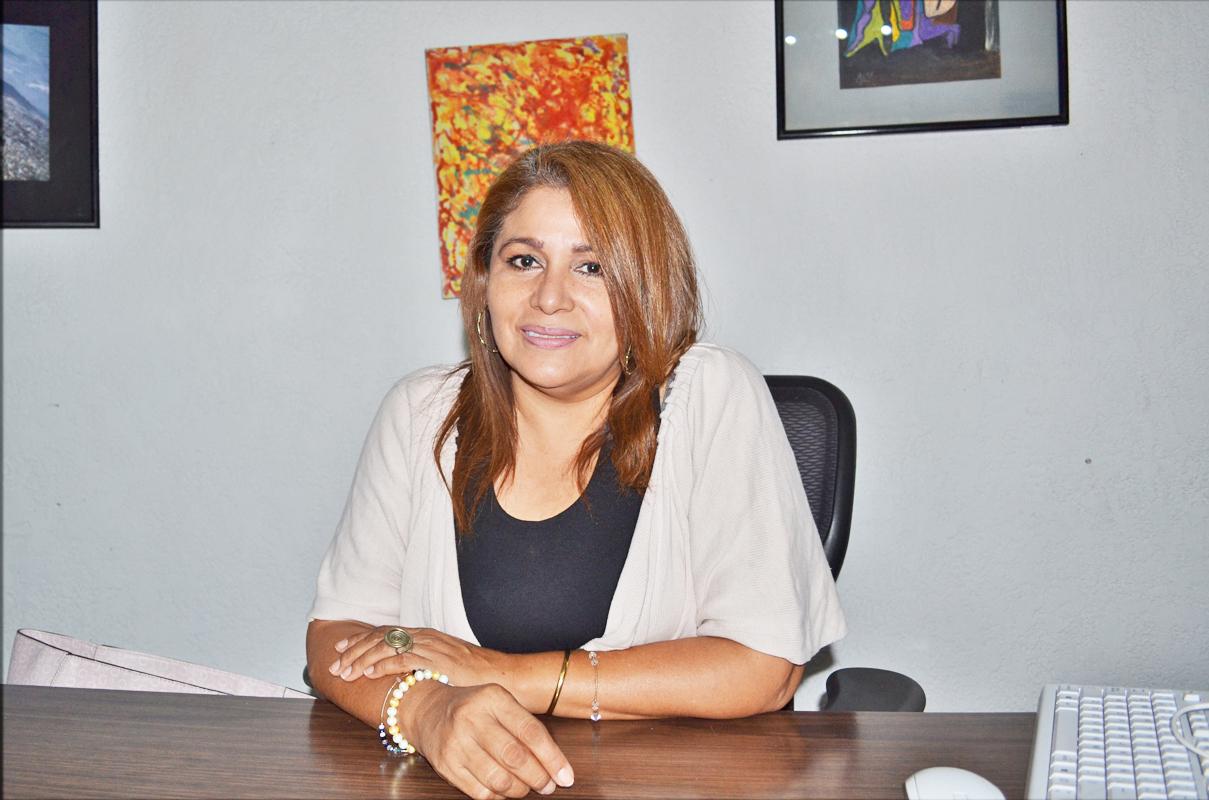 Blanca Maltos, directora del Centro Cultural José R. Mijares.