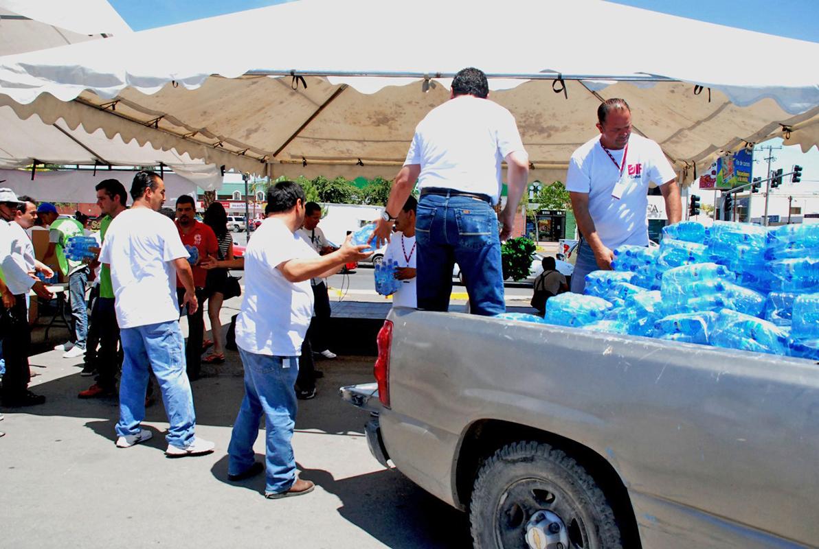 Tabasco se une por Oaxaca; estos los centros de acopio