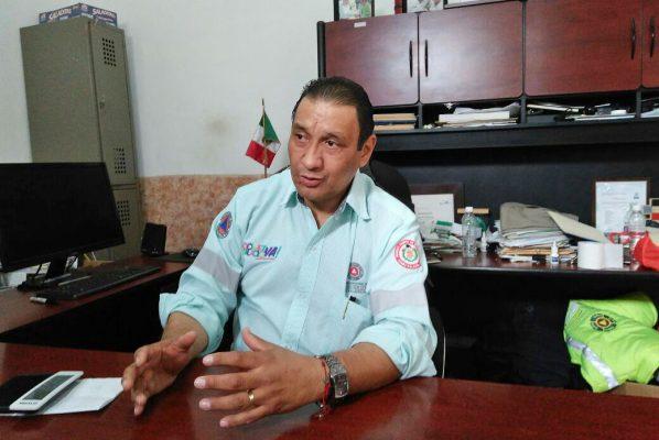 Alonso Gómez Vizcarra, director de Protección Civil.