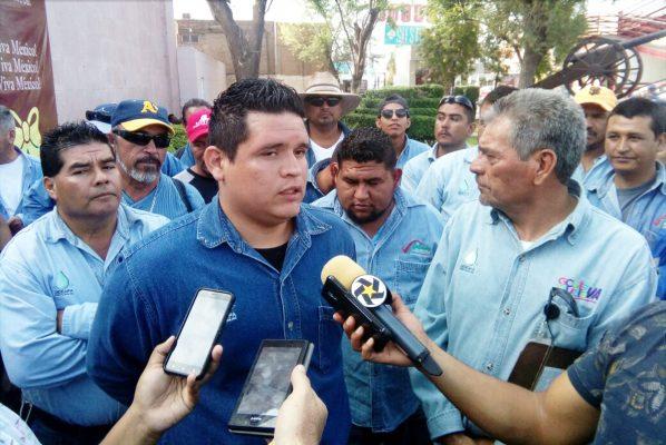 El secretario general del sindicato, Salvador Canales, aseguró que el próximo jueves se colocará ante la Junta de Conciliación un emplazamiento a huelga.