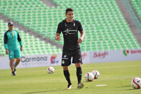 Santos, en buen nivel para duelo ante Toluca