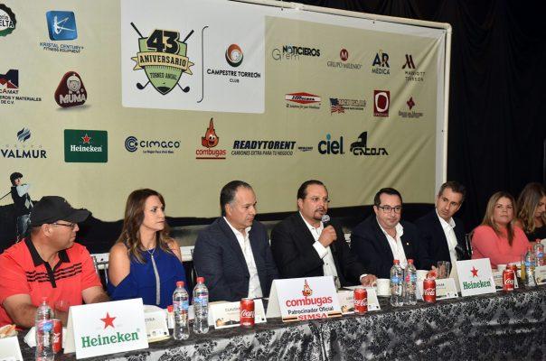 Anuncian XLIII Torneo Anual de Golf del Campestre Torreón