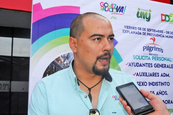 El titular de la Dirección de Atención a la Juventud, Roberto Rodríguez destacó la realización de diversas actividades que motiven a los jóvenes a desarrollarse de manera positiva.