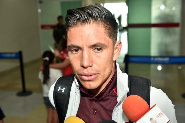 Efraín 'Chispa' Velarde aseguró que Toluca viene con la firme intención de lograr un triunfo en la comarca.
