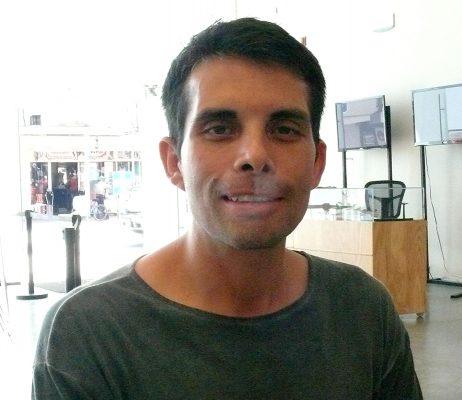 Carlos Sainz Peña, subcoordinador de Comunicación y Difusión del Museo Arocena.
