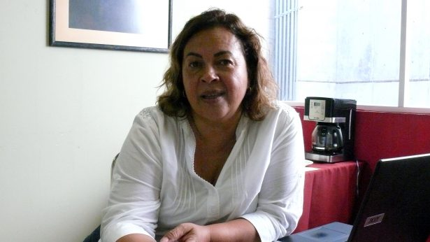 María del Roble Barret Zertuche, directora del Teatro Nazas