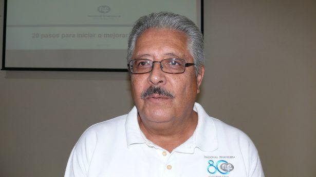 Emilio Castaña Herrera, consultor del programa de Formación de Emprendedores de Nafinsa.