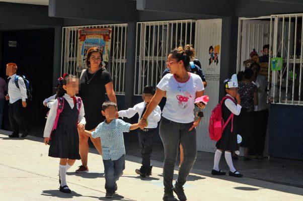 Escuelas públicas, sin reporte de daños por recientes lluvias