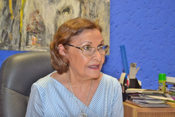 Claudia Maynez, administradora del recinto.