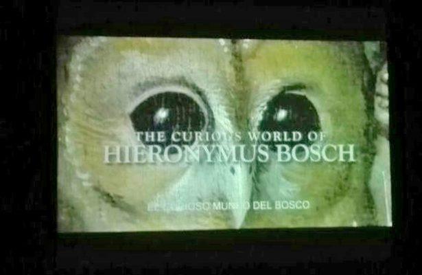 Exhiben en pantalla la fascinante obra de Hieronymus Bosch