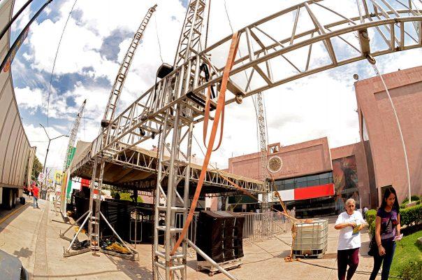 Coordinan esfuerzos para comodidad de asistentes al Festival Revueltas