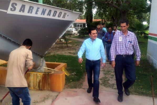 Se realizó ayer una supervisión general en las operaciones de la Planta Tratadora de Aguas Residuales del Simas.