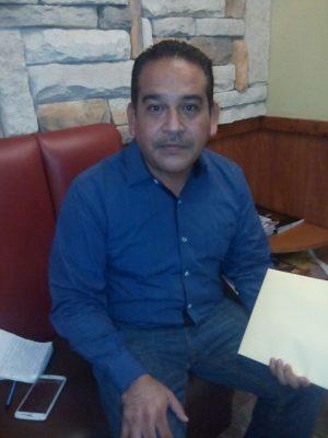 Rodolfo López, coordinador de la Secretaria de Desarrollo Social en San Pedro de las Colonias.