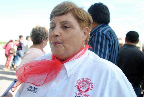 Graciela Trueba Carrillo, diputada cenecista del Partido Revolucionario Institucional.