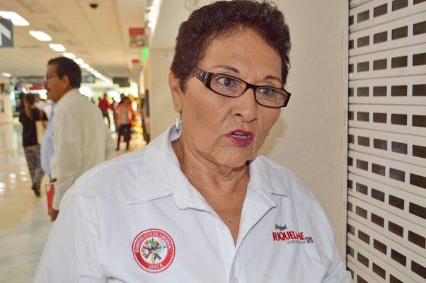 María del Rosario Rey Guevara, regidora cenecista.