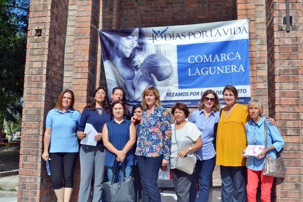 Se manifiestan organizaciones en contra del aborto