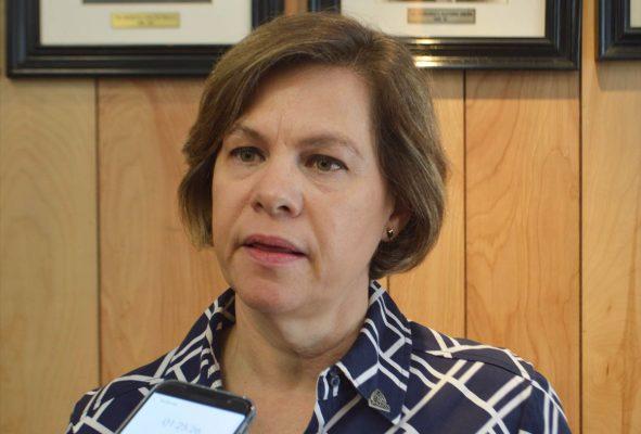 Susana Estens de la Garza, directora de Ecología Municipal.