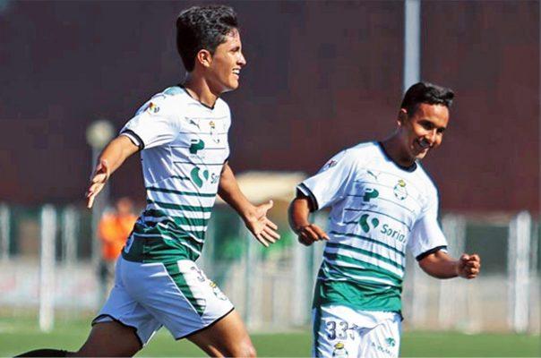Santos vence 2-1 al León y asume liderato del Torneo Sub 17